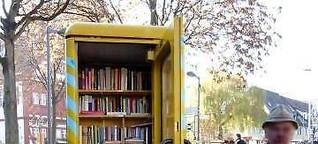 ❢ Clever: Mini-Bibliothek - Öffnungszeiten täglich von 0 bis 24 Uhr [2]