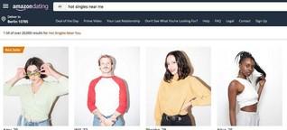 Amazon Dating: US-Künstler starten täuschend echte Internetseite - WELT