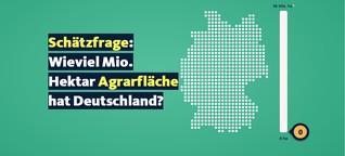 Datenspecial: So hat sich die deutsche Landwirtschaft entwickelt
