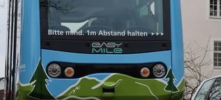 Premiere: Linienbetrieb mit automatisiertem Bus