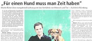 """Martin Rütter: """"Für einen Hund muss man Zeit haben"""""""