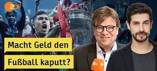 Steckt im Fußball zu viel Kommerz, Bela Rethy? | heute+ Livestream