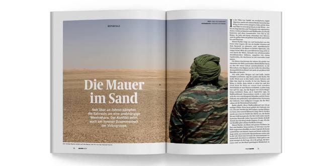 Die Mauer im Sand