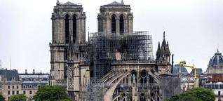 Ein Jahr nach dem Brand: warum geht es nicht weiter mit dem Wiederaufbau von Notre Dame? gut zu wissen, BR