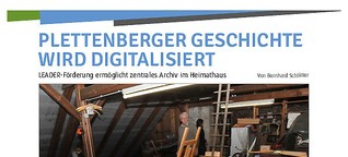 Heimatmuseum wird digital