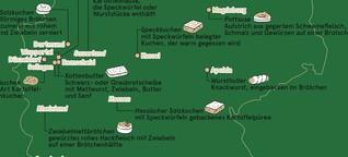 Deutschland: Imbiss-Spezialitäten