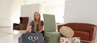 Malin Niemann ist OWL's beste Polster- und Dekorationsnäherin