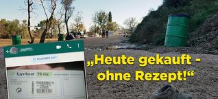 +++Exklusive Recherche+++ Psychopharmaka-Missbrauch in EU-Flüchtlingslager