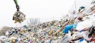 Der Weg des Plastikbechers