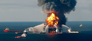 "Explosion der ""Deepwater Horizon"": Das Höllen-Bohrloch"
