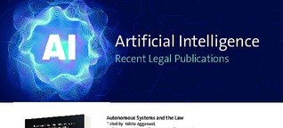 Artificial Intelligence - Recent Legal Publications