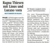 """RV Waabs-Langholz ehrt """"seine"""" fünf Kreismeister"""