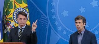 Brasilien: Bolsonaro feuert Gesundheitsminister, Nachfolger betont Übereinstimmung mit dem Präsidenten