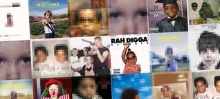 Rapper und Kindsköpfe - der Gegensatz auf dem Cover