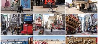 Wie Fotograf Stefan Falke das leergefegte New York porträtiert