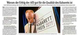 """Kabarettpreisträger Max Uthoff über seine Arbeit zu """"Die Anstalt"""" im ZDF"""