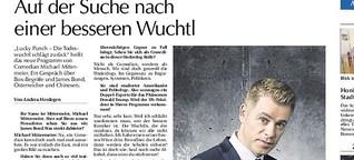 """Michael Mittermeier und der """"Lucky Punch"""""""