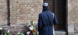 Anschlag in Halle: Eindrücke aus den 24 Stunden danach