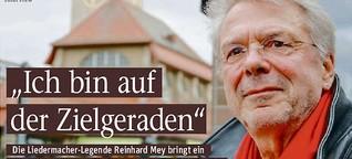 Liedermacher-Legende Reinhard Mey bringt im Mai sein 28. Album heraus