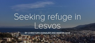 Seeking refuge in Lesvos