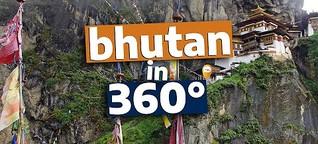 360°-Video: Königreich Bhutan - zu Besuch im Land des Glücks