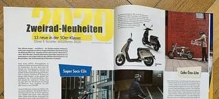 13 neue in der 50er-Klasse: Diese E-Scooter debütieren 2020