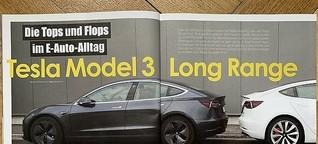 Tesla Model 3: Die Tops und Flops im E-Auto-Alltag