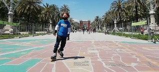 Ausgangssperre in Spanien: Großer Tag für Spaniens Kinder