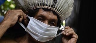 """Autorisierter Genozid"": Wie Bolsonaros Corona-Politik das Leben der Indigenen Brasiliens bedroht | BR.de"