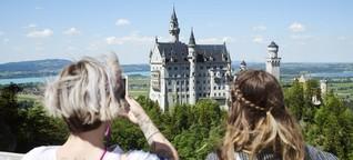 Schloss Neuschwanstein: Und wer isst jetzt die Schweinshaxen?