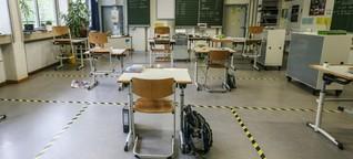 Schichtbetrieb im Klassenzimmer