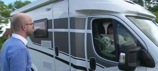 Büsum: Wechselstress auf dem Campingplatz