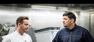 Küchenrundgang mit Tim Mälzer und Franz Schned