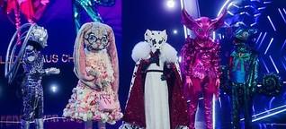 """Der rätselhafte Erfolg der TV-Show """"The Masked Singer""""."""