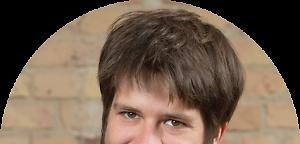 Porträt von Jan Steckel - Tagesspiegel Background