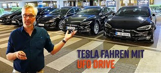 UFO Drive: Elektroautos einfach mieten