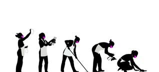Saubere Böden - schmutziges Geschäft: Was zwei Reinigungskräfte über ihren Job berichten - Arbeit&Wirtschaft