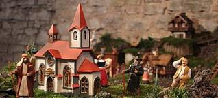 Segnitz: Das weihnachtliche Miniatur-Wunderland in der Scheune