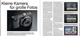 »Kleine Kamera für große Fotos« – Test Ricoh GR III [ColorFoto 6/2019]