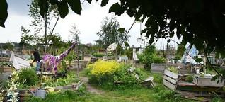 Die Gärtner an der Rollbahn