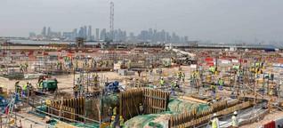 Fußball-WM 2022: Wie Katar seine Arbeiter ausbeutet