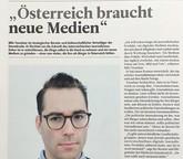 Österreich braucht neue Medien