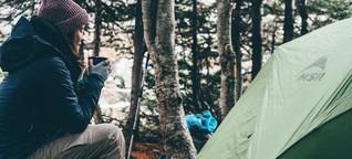 Campingzubehör: Was man zum Zelten braucht - und was nicht