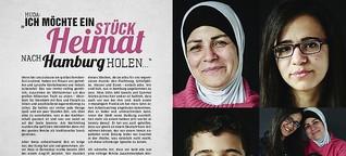 Porträt in Kiezküche Refugees Welcome