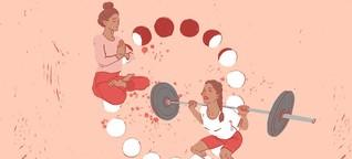 Zyklus-Kolumne: Warum das Tabu der Menstruation im Sport enden muss