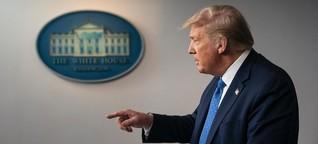 Trump will nicht verrückt sein - und blamiert sich