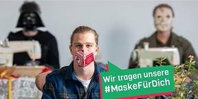 Möge die Maske mit Euch sein! l #MaskeFürDich