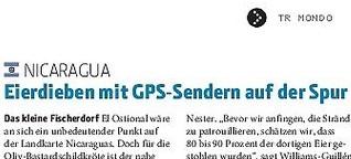 Eierdieben mit GPS auf der Spur