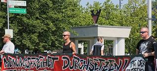 Wie Neonazis in Henningsdorf eines Mörders gedenken