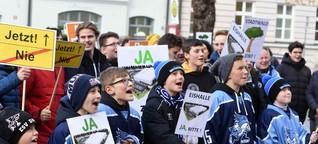 Eishockeyverein wittert seine Chance